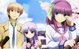 Title:angel beats otonashi yuri and angel-Cartoon character design desktop wallpaper Views:5585