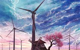 Title:old windmill-Artistic creation design wallpaper Views:4602