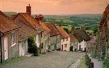 Title:gold hill cottages-England Landscape Wallpaper Views:7318