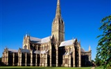 Title:salisbury cathedral-England Landscape Wallpaper Views:4897