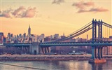 Title:Manhattan Bridge United States-Cities photography wallpaper Views:17255