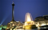 Title:Trafalgar Square fountain -London Photography Wallpapers Views:3506