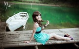Title:Xiao Ya-lake high-definition photography widescreen wallpaper Views:9389