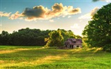 Title:house-Summer landscape wallpaper Views:8585