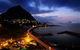 Title:night view seaside-Cities photography wallpaper Views:9016