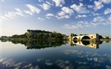 Title:Avignon on the Rhone France-Bing Wallpaper Views:81993
