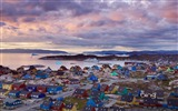 Title:Greenlands Ilulissat town-Bing Wallpaper Views:56644
