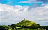 Title:St Michaels Tower Glastonbury England-natural scenery wallpaper Views:14814