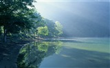 Title:green lake in forest-Nature Landscape Wallpapers Views:4302