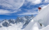 Title:mountain Skiing-Nature Landscape Wallpapers Views:7657