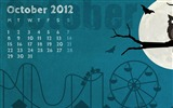 Title:Creepy October-October 2012 calendar wallpaper Views:7987
