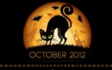 Title:October 2012 calendar desktop themes wallpaper Views:13368