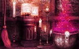 Title:Magic-2012 Happy Halloween theme Wallpapers Views:4866
