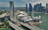 Title:Marina Bay Sands Traffic Singapore-architectural landscape wallpaper Views:13735