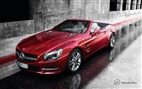 Title:Mercedes Benz SL roadster auto HD Wallpaper Views:12450
