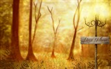 Title:forest-2012 Happy Halloween theme Wallpapers Views:4970