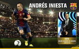Title:Andres Iniesta UEFA BEST PLAYER IN EUROPE 2011-2012-FC Barcelona Club HD Wallpaper Views:10968