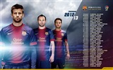 Title:LEAGUE CALENDAR 2012-13-FC Barcelona Club HD Wallpaper Views:9426