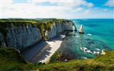 Title:etretat-Landscape with beat wallpaper Views:6991