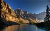 Title:Dawn in Mountains-beautiful natural landscape Wallpaper Views:3240