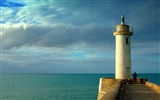 Title:Lighthouse-beautiful natural landscape Wallpaper Views:2837
