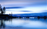 Title:The morning of the lake-beautiful natural landscape Wallpaper Views:7930