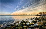 Title:beach rocks-winter natural landscape wallpaper Views:3511