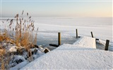 Title:frozen lake winter-winter natural landscape wallpaper Views:4341