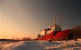 Title:high and dry ship-winter natural landscape wallpaper Views:3195