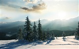 Title:mountain winter-winter natural landscape wallpaper Views:4712