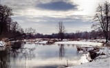 Title:river winter scenery-winter natural landscape wallpaper Views:3603