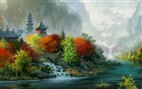 Title:autumn colors-Drawings creations HD Wallpaper Views:4684