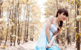 Title:forest girl-2013 pure beauty photo wallpaper Views:6609