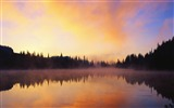 Title:lake fog-Lakeside scenery HD wallpapers Views:3450