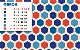 Title:Abstract Retro-March 2013 calendar desktop themes wallpaper Views:3679