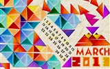 Title:Geometric March-March 2013 calendar desktop themes wallpaper Views:3017