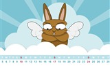 Title:Happy Easter-March 2013 calendar desktop themes wallpaper Views:3724