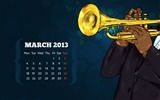 Title:Jam Session-March 2013 calendar desktop themes wallpaper Views:3427