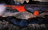Title:Volcanic eruption magma HD photography wallpaper 09 Views:3213