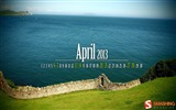Title:April 2013 calendar desktop themes wallpaper Views:14202