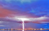 Title:city sky modulations lightning rain-City travel photography wallpaper Views:2527