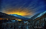 Title:Beautiful Alaska natural scenery desktop wallpaper 04 Views:8851