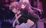 Title:boy girl night street back-Anime design wallpaper Views:3972