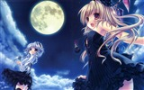 Title:girl vampire knight moon-Anime design wallpaper Views:6646