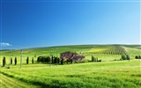 Title:house field pastures trees estate-landscape widescreen wallpaper Views:3257