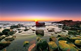 Title:sunset is here-Summer scenery wallpaper Views:2766