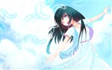 Title:feathers girl art sky clouds-2013 Anime HD Wallpaper Views:3425