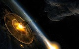 Title:planet explosion asteroids-Space Photography HD Wallpaper Views:3097
