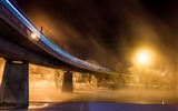 Title:High-speed rail bridge night-Cities architectural photo wallpaper Views:3428