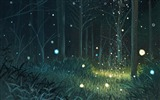Title:Second element of the Fireflies Summer Cartoon Wallpaper 01 Views:3056